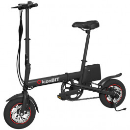 Электровелосипед IconBIT E-bike K7, цвет Черный