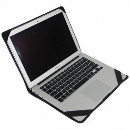 "Чехол-обложка Alexander Python Edition для MacBook Air 13"" 2018/Pro 13"" Touch Bar из натуральной кожи, цвет Шоколад"