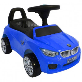 Толокар RiverToys BMW JY-Z01B MP3, цвет Синий (JY-Z01B-MP3-BLUE)