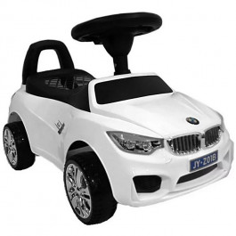 Толокар RiverToys BMW JY-Z01B MP3, цвет Белый (JY-Z01B-MP3-WHITE)