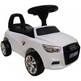 Толокар RiverToys Audi JY-Z01A MP3, цвет Белый (JY-Z01A-MP3-WHITE)