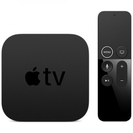 Телеприставка Apple TV 4K 64 ГБ, цвет Черный (MP7P2RS/A)